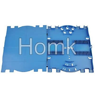 24 port fiber optic splice tray