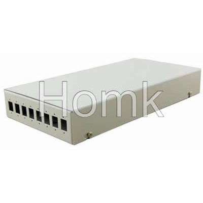 8 Core Terminal Box White