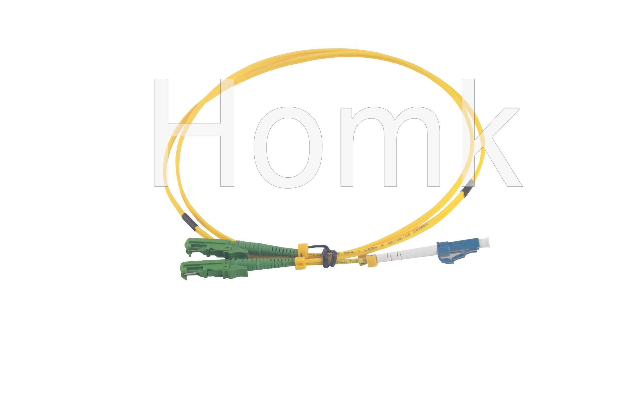 E2000 APC-LCPC SM DX 1 Meter Fiber Patch Cord