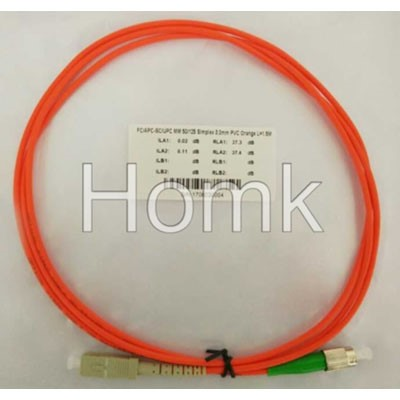 FC/APC-SC/UPC SX MM Standard Patch Cord