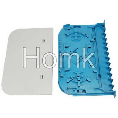 FC optical fiber splice tray