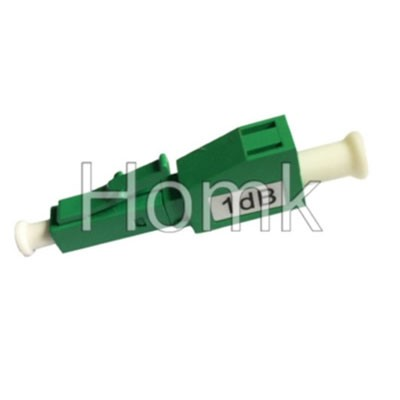 LC/APC 1dB fiber attenuator