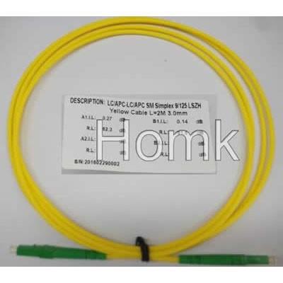 LC/APC-LC/APC SX SM Standard Patch Cord