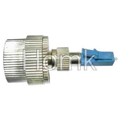 LC-FC hybrid fiber optical adapter