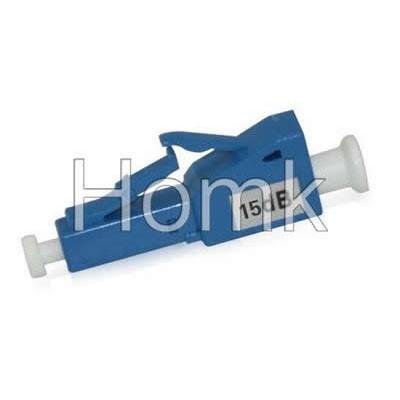 LC/PC 15dB Male to Female fiber attenuator