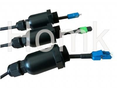 M25-M16 Waterproof Fiber Optic Connector