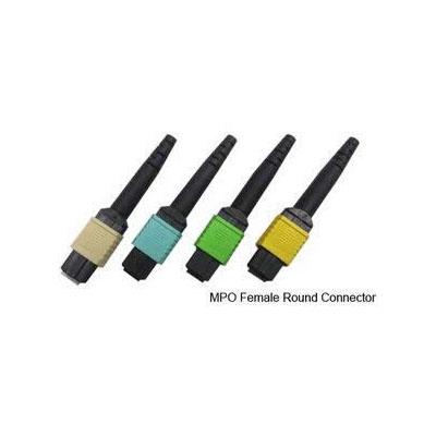 MPO Female Round Fiber Optic Connector