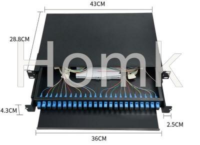 Rack Mount Drawer Type Fiber Terminal Box 24 core