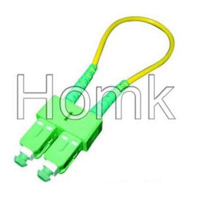 SC APC Fiber Optic Loopback