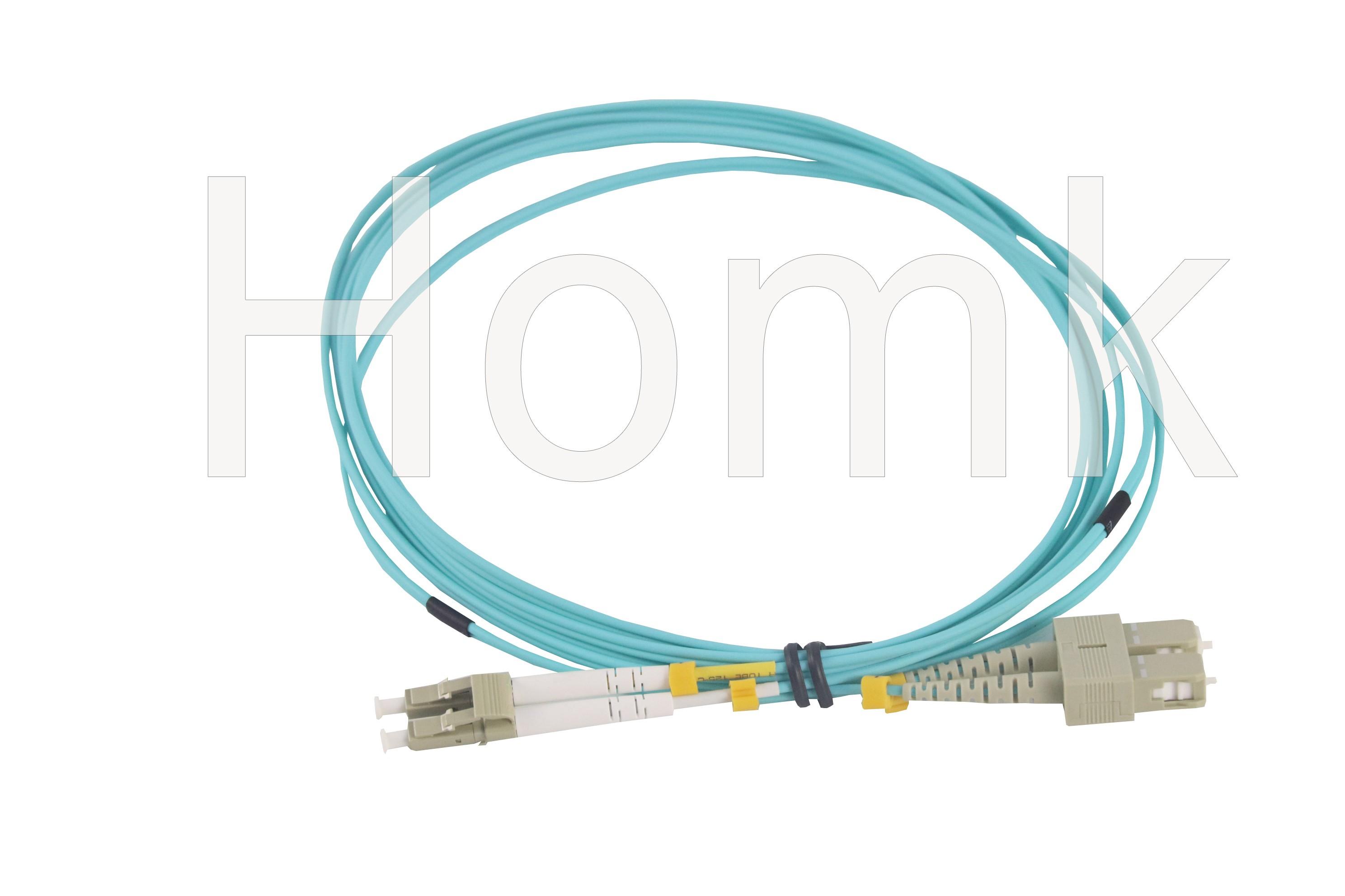 SC-LC OM3 DX Fiber Patch Cord