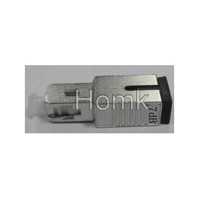 SC/PC 7dB Male to Female fiber attenuator