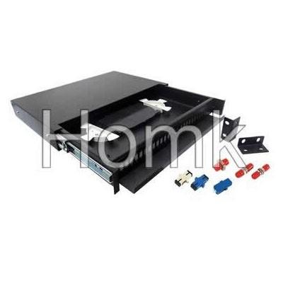 Sliding rack-mounted Terminal box