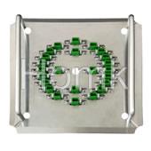 100% Original Swiss S316 Material LC/APC-24 Handheld Fiber Polishing Fixture…