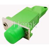 E2000/APC fiber adapter