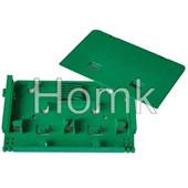 Green Color Splice Tray