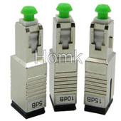 LC/APC-SC/PC hybrid fiber attenuator
