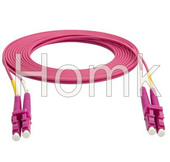 LC PC OM4 DX 3 Meters Fiber Patch Cord
