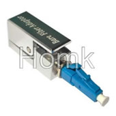 LC square fiber adapter