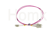 LCPC-SC OM4 DX Fiber Patch Cord