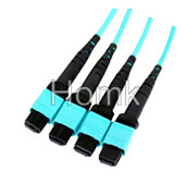 MPO OM3 Fiber Optic Pigtail