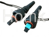 ODVA MPO Fiber Waterproof Patch Cord connector