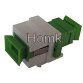 SC/APC keystone jack fiber adapter