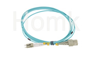 SC-LC OM3 DX Fiber Patch Cord