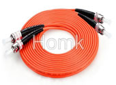 STPC to STPC 3m MMDX Fiber Optic Patch Cord