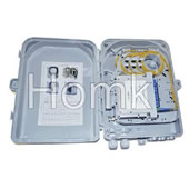 Waterproof fiber optic terminal box