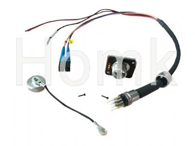 DC design fiber ip67 clamp waterproof connector