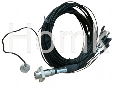 ODC-LC 12 core patch cord waterproof connector