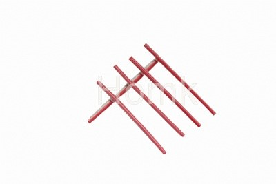 Red 1.5*60mm Splice Protection Tube