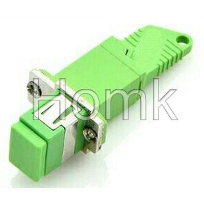 SC/APC-E2000/APC Hybrid Fiber Adapter