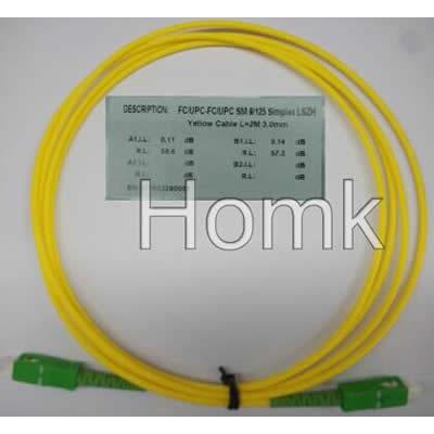 SC/APC-SC/APC SX SM Standard Patch Cord