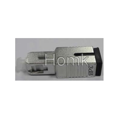 SC/PC 3dB Male to Female fiber attenuator