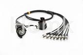 8 Core Socket and Plug ODC- FCPC FTTA Patch Cord