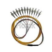 FC PC 12 color Fiber Pigtail