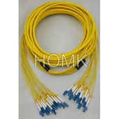 LC-LC 12 core Single Mode Break Out Patch Cord