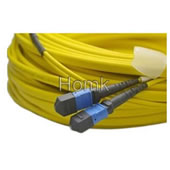 MPO Blue Connector Fiber Optic Patch Cord