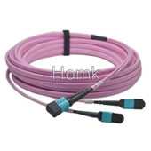 MPO/MTP OM4 Fiber Optic Patch Cord