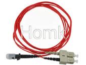 MTRJ-SC Multimode Fiber Optic Patch Cord