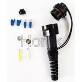 PDLC Waterproof Fiber Optic Connector