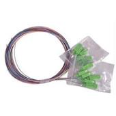 SC 12 color fiber pigtail