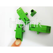 SC/APC 45 degree Fiber Optic Adapter