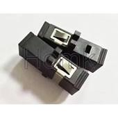 SC-SC Black Optical Fiber Adapter