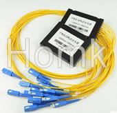 SCPC 1*8 Single Mode Fiber Optical Splitter
